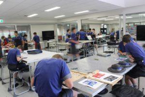 Anglican Church Grammar School, Brisbane. Art Studios.
