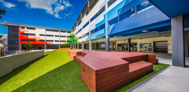 Brisbane State High School Redevelopment. Photo: Portfyri Photography