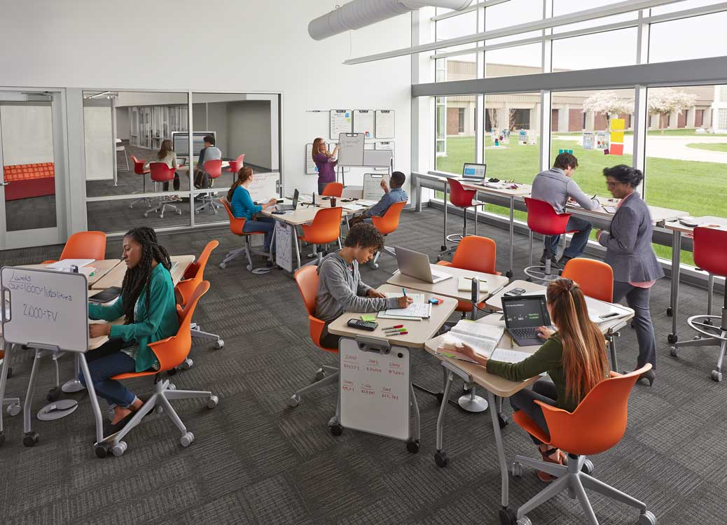 Innovative Classroom Furniture Australia ~ Innovative learning spaces in schools transitions north
